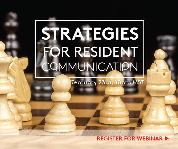 Strategies for Resident Communication