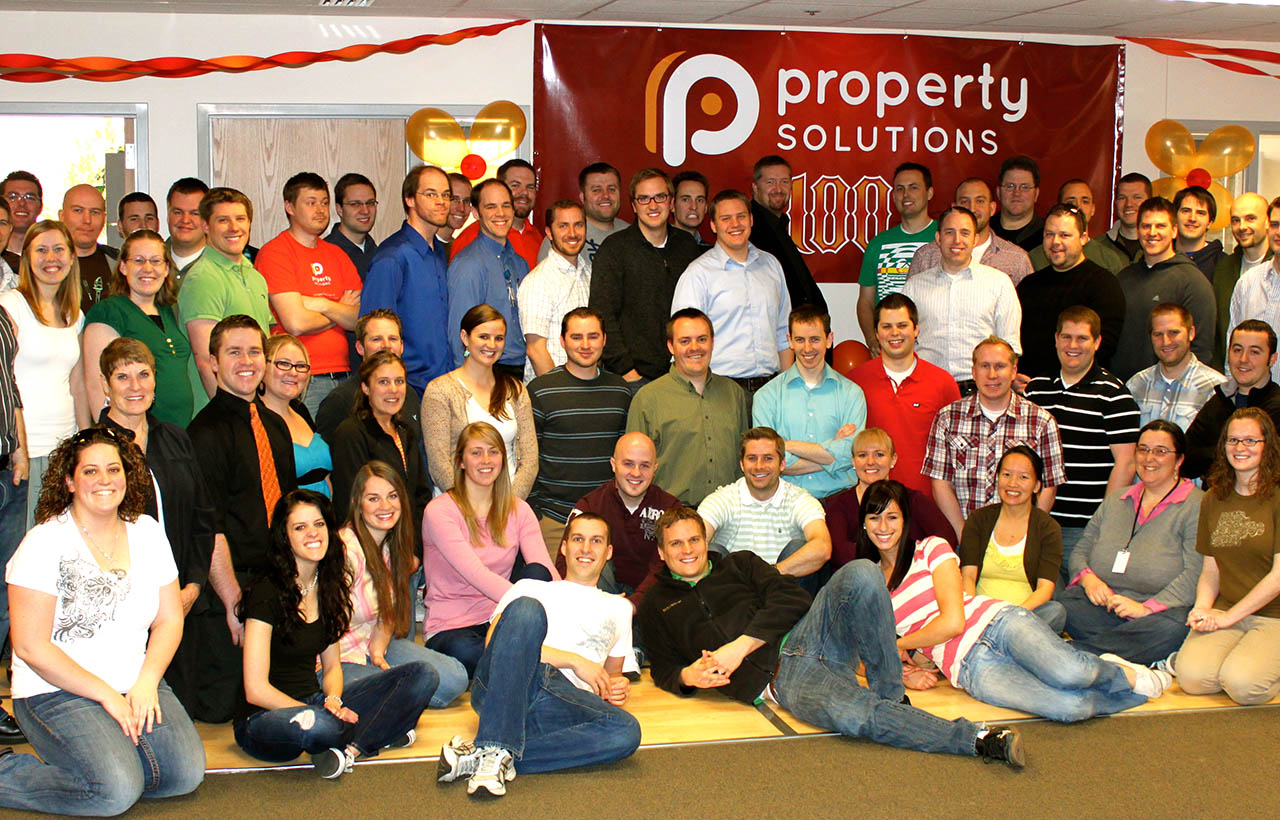 Property Solutions 100th Employee